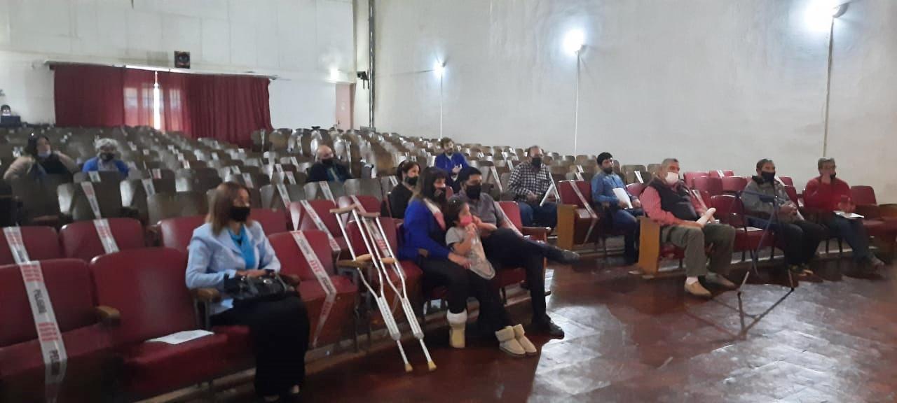 Parte de la Pastoral de Conesa en el Cine Monumental Conesa.